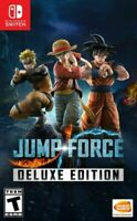 Jump Force Deluxe Edition Nintendo Switch Brand New Sealed