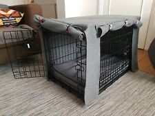 Kong medium dog crate with orthopaedic bed and cover