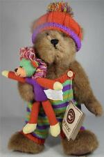 Boyds Bears Large 'Rusty Knitbeary With Roary' #4015455 Ret. New With Tag