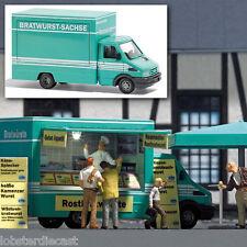 IVECO Sausage Sales Van 1/87 scale plastic model Busch