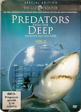 THE LAST FRONTIERS: PREDATORS FROM THE DEEP / 3 DVD-SET SPECIAL EDITION STEELBOX