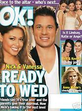 NICK & VANESSA BRITNEY SPEARS HOT HOT HOT OK MAGAZINE