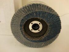 """20 X 100mm 4"""" Flap Discs Blue Zirconia 40 Grit Angle Grinder Metal Sanding"""