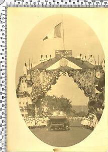 Photo coloniale Française. Somalie. La fête avec le défile. Vers 1920