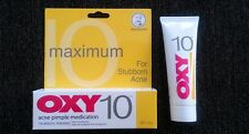*25g* OXY 10 - 10% Benzoyl Peroxide Acne Pimple Medication - Maximum Strength