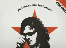 "ZUCCHERO disco MIX 12"" 45 g. STAMPA FRANCESE promo YOU MAKE ME FEEL LOVED Remix"