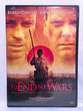 To End All Wars (DVD, 2001) Widescreen, Robert Carlyle, Keifer Sutherland