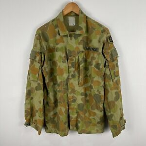 Australian Air Force Mens Button Shirt Jacket Large Camouflage Long Sleeve