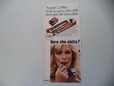 advertising Pubblicità 1978 FERRERO POCKET COFFEE