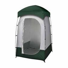 Mountview Camping Toilet Tent - Green/SIlver