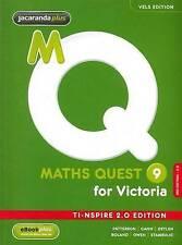 Maths Quest 9 for Victoria 3E TI-Nspire 2.0 Edition & eBookPLUS '  Patterson