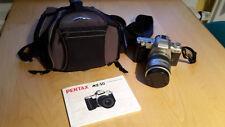 Pentax MZ50 mit Pentaxobjektiv 28-80 mit Fototasche und Bedienungsanleitung