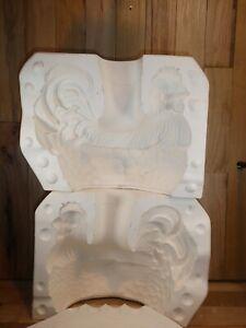 Arnel's Ceramic Slip Mold 898 Huge Rooster Figurine