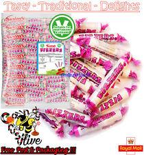 100 Swizzels FIZZERS Sherbet Fruit Flavour Fizzy Chalk Candy Sweets Retro Kids