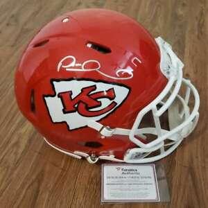 Patrick Mahomes Signed Kansas City Chiefs Speed Rep Helmet Certified COA