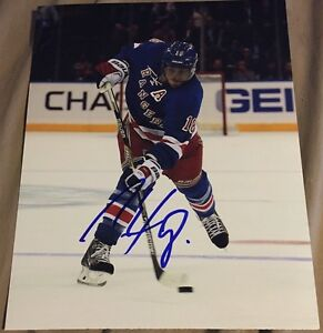 Marc Staal Signed 8x10 New York Rangers Photo