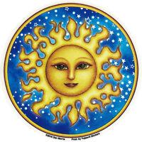 Starry Sun - Window Sticker / Decal
