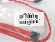 Lot of 120 57cm SATA III 3 6GB Red Serial ATA HDD SSD Data Cable CBL-0044L