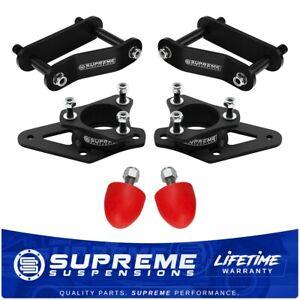 "For Nissan Frontier Xterra 3"" Front + 2"" Rear Lift Kit + Polyurethane Bump Stops"
