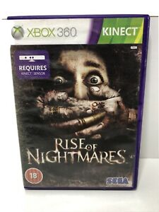 Rise of Nightmares - Kinect Compatible Xbox 360 includesd manual free post UK