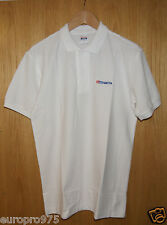"""Tamiya 66697 Polo Shirt White (L), Chest Size: 40"""" (Inches) NEW"""