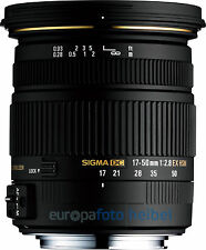 Sigma AF 17-50 mm f/2, 8 ex DC HSM para Sony a-Mount a77 a77ii a68 a65, etc.