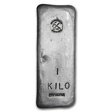 1 kilo Silver Bar - Prospector's Gold & Gems - SKU #151999