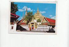 BF27952 view of wat po a popular name of wat bangkok thailand   front/back image