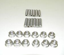 "SB Chevy Stainless Steel Exhaust Header Stud Kit  1 1/2"" Long NEW"