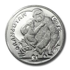 Sierra Leone Orangutan Gorilla $1 2010  BU Crown