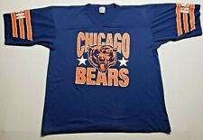 New listing Vintage Chicago Bears Jersey T-Shirt Mens Xl Single Stitch Garan