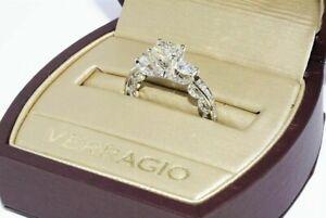 $14,000 AUTHENTIC VERRAGIO DIAMOND ENGAGEMENT RING WITH VERRAGIO ORIGINAL BOX