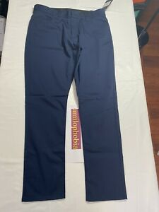 New Mens Size 34 X 32 Blue Nike Golf Flex Pants