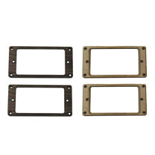 4pcs Guitar Humbucker Pickup Mounting Ring for Electric Guitar Replacement