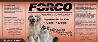 Forco Digestive Supplement, Dogs and Cats, 1LB