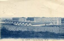 Carte LAON Caserne Semilly