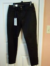 Chip And Pepper SYD Cropped Skinny Black Jeans Size 27