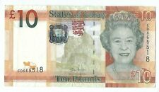 P34a 2010 States Of Jersey 10 pound note (world/lot) Combined Shipping