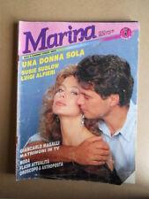 MARINA n°327 1988 Rivista di Fotoromanzi ed. LANCIO [G830]
