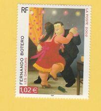 TIMBRE LES DANSEURS - FERNANDO BOTERO ( 2002 ) NEUF