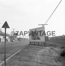 Vtg 1964 Politics Los Angeles CA Farrington For Congress Billboard Sign #1963