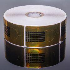 100 Nagel Goldschablonen Schablone Nagelverlängerung Nagelschablone Gel / Acryl