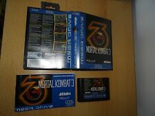 Sega megadrive mortal kombat 3 Versión PAL