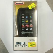 Nokia 5800 Silicone Case Cover in Black SSNOK5800. Brand New in Original package
