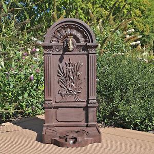Wasserstelle Zapfstelle Standbrunnen Gartenbrunnen freistehender Brunnen Garten4