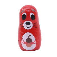 6pcs Animal Dolls Matryoshka Hand Painted Russian Doll Children Kids Gift RF