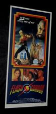 Original 1980 FLASH GORDON Rare Australian Daybill Insert + press sheets & more