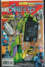 G.I. Joe #142 Snake Eyes Transformers VF+ 1st Print Free UK P&P Marvel Comics