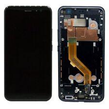 Per HTC u11 RIPARAZIONE DISPLAY LCD completamente unità con cornice Touch Nero Nuovo