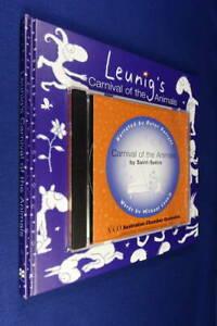 LEUNIG'S CARNIVAL OF THE ANIMALS Michael Leunig BOOK & CD with Peter Garrett ACO